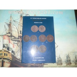 Thomas Hoiland Montauktion Kobenhavn (127) 2008-11-08.  Russian Coins. Collection Sonsteby. Russian Copper Money