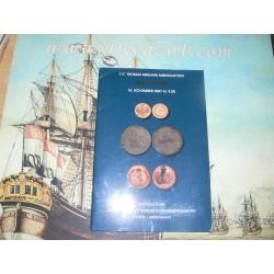 Thomas Hoiland Montauktion Kobenhavn (117) 2007-11-10.  Russia III. Collection Jens E. Aalborg. Russian Copper Money