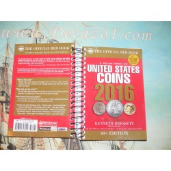 Bressett, Yeoman- Guide Book of United States Coins 2016: The Official Red Book Spiral Edition
