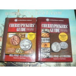 Fivaz, Stanton: Cherrypicker's Guide to Rare Die Varieties of United States Coins, 2 Volumes
