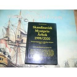 Mortensen, Morten Eske - Skandinavisk Myntpris-Arbok 1999-2000. Auction results Scandinavian coins