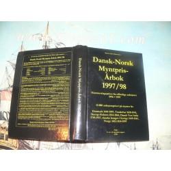 Mortensen, Morten Eske - Dansk-Norsk Myntpris-Arbok 1997-98. Auctions results Scandinavian coins