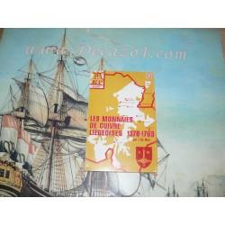 NP 04 De Mey: Les Monnaies de Cuivre Liegeoises 1378  – 1763. numismatic pocket