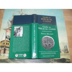 Hendin, David - Guide to Biblical Coins. 4th Edition. Signed and dedicated. Limited Edition AP/100