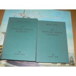 Gariel, E.: Le Monnaies Royales de France Sous la Race Carolingienne. Reprint 1974