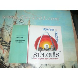 ANA Sale 1979-09.St. Louis. New England Rare Coin Auctions. Constatine Rouble. Galerie des Monnaies Geneva. Rare.