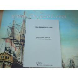 Codrington, H.W.: V.O.C. COINS IN CEYLON. Reprint Venadam, De V.O.C. (VOC) munten