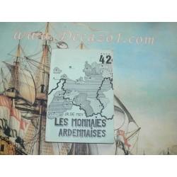 NP 42 De Mey, J.R. -  Les monnaies Ardennaises 1046-1815 Numismatic pocket