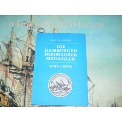 Geppert, Ernst-G.-Die Hamburger Freimaurermedaillen 1742-1979. Masonic medals