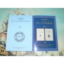 Set DVD yearbooks Royal Dutch Numismatic Society 1893-2004 (1-91) + Index book 1892-2004