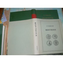 Verkade – Muntboek. Luxe Hardcover reprint Folio.  All Dutch Provincial coins