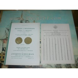 Schulman, Jacques. Amsterdam. 1959-03 (232) - COINS AND MEDALS- LEWANDOWSKY / NEW YORK & MENSO / ERMELO