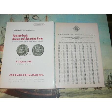 Schulman, Jacques. Amsterdam. 1966-06 (243) - The Richard J. GRAHAM (Paul TINCHANT) Greek, Roman and Byzantine coins