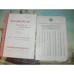 Schulman, Jacques. Amsterdam. 1966-11 (244) - Serooskerke (w) Muntvondst van Gouden Munten Periode: 1422-1622