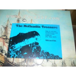 "Lane & Son 1973-09-21 The Hollandia Treasure RECOVERED FROM WRECK OF THE DUTCH EAST-INDIAMAN ""HOLLANDIA"" (SUNK 1743)"