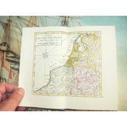 SANSON, N. ca 1550 Atlas nouveau du Voyageur pour les dix-sept Provinces des Pais-Bas. Avec la Description