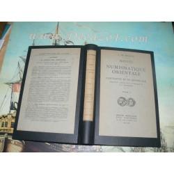 DE MORGAN, J.,- Manuel de numismatique orientale de l'antiquité et du moyen age. Tome I. 1923/36 Original