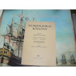 Numizmatikai Közlöny. LXXVI – LXXVII. evfolyam 1977 - 1978. Kiadja a magyar numizmatikai tarsulat.