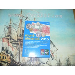 Muntalmanak 2015 All Dutch coins and Banknotes 1795-2014 and all European Euro's