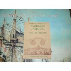 Delgrange, D - Monnaies d'Artois et du Pas-de-Calais depuis les Carolingiens jusqu'à 1792. 3e Ed.