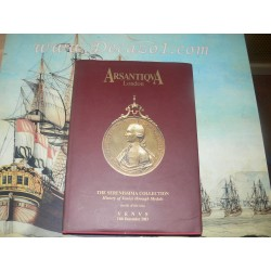 Arsantiqva. The Serenissima collection, History of Venice through Medals part III (18.) London 2003