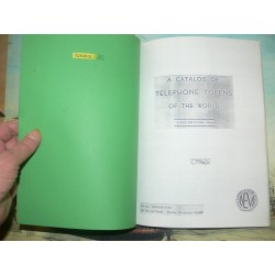 Paul Targonsky - A catalog of telephone tokens of the world – 1968 Revised First Edition.