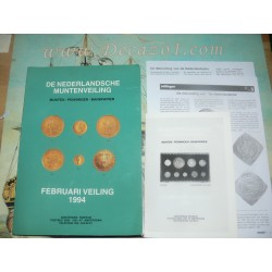 Nederlandsche Muntenveiling 1994-2 Finest post WW II Auction of Medieval, Provincial and Kingdom coins of the Low Countries