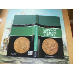 Grierson, P: Coins of Medieval Europe First Print Seaby 1991