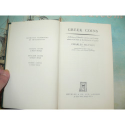 Seltman, Charles-Greek Coins A History of Metallic Currency 1955