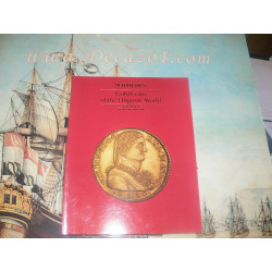 SOTHEBY'S GENEVA GOLD COINS OF THE HISPANIC WORLD 1990 Private Coll Auction Catalog