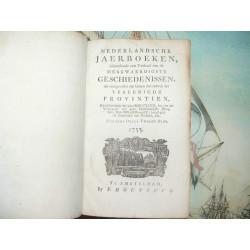 Nederlandsche jaerboeken 1755 Negende deels Tweede Stuk Original Edition. Dutch Historical annal.