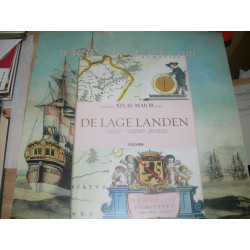 Blaeu Joan-ATLAS MAIOR-The Low Countries-De lage Landen- Belgica Regia & Belgica Foederata.