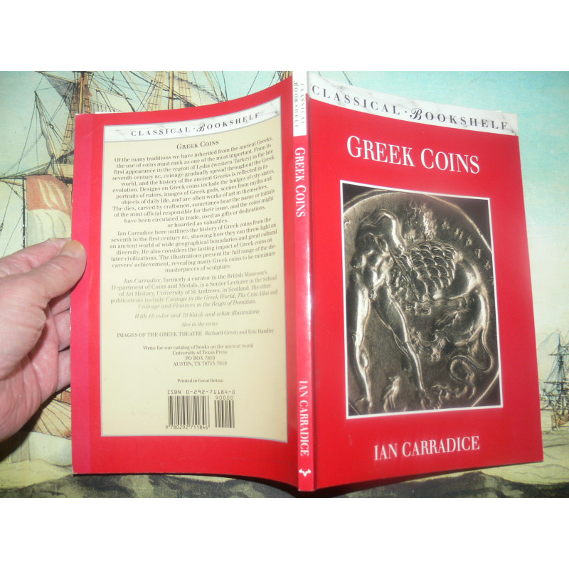 Carradice, Ian - Greek Coins (Classical Bookshelf Edition)
