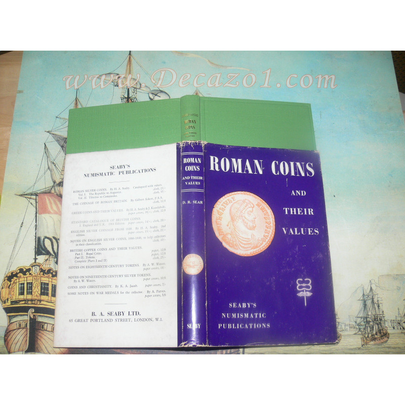 Sear, David R.- Roman Coins and their values 1964 1st Edition