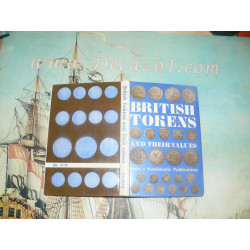 Seaby: British Tokens and their Values 1970 (17th, 18Th and 19th Century)