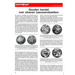 Choice from 2500 articles on coins in PDF. Published in De MUNTkoerier 1972-2014