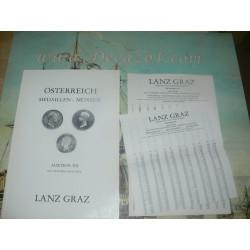 Lanz, Graz, Austria. 1978-12 Auktion XII  Oesterreich. Austrian coins and medals