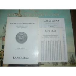 Lanz, Graz, Austria. 1980-11 Auktion XV Römisch-Deutsches Reich. Barockmedaillen- Haus Habsburg