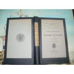 Tourneur,Victor. Catalogue des Médailles du royaume de Belgique. Tome I 1830-1847.
