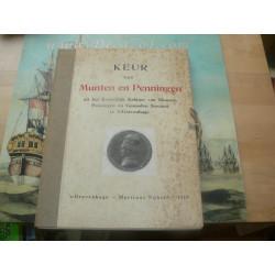 Keur van Munten en Penningen- Koninklijk Penning Kabinet the Hague. Low price!