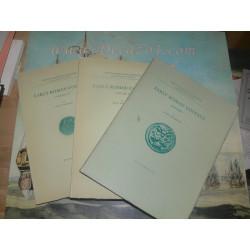 Thomsen, Rudi. Early Roman Coinage. 3 Original volumes