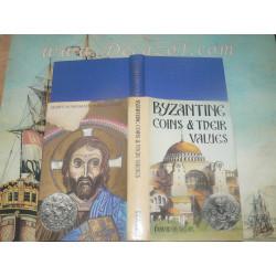 Sear David R. - Byzantine Coins & Their Values. 1974. First Edition.