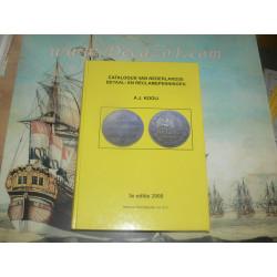 Kooij, A.J. Catalogus van Nederlandse betaal- en reclamepenningen.. 3rd revised edition.