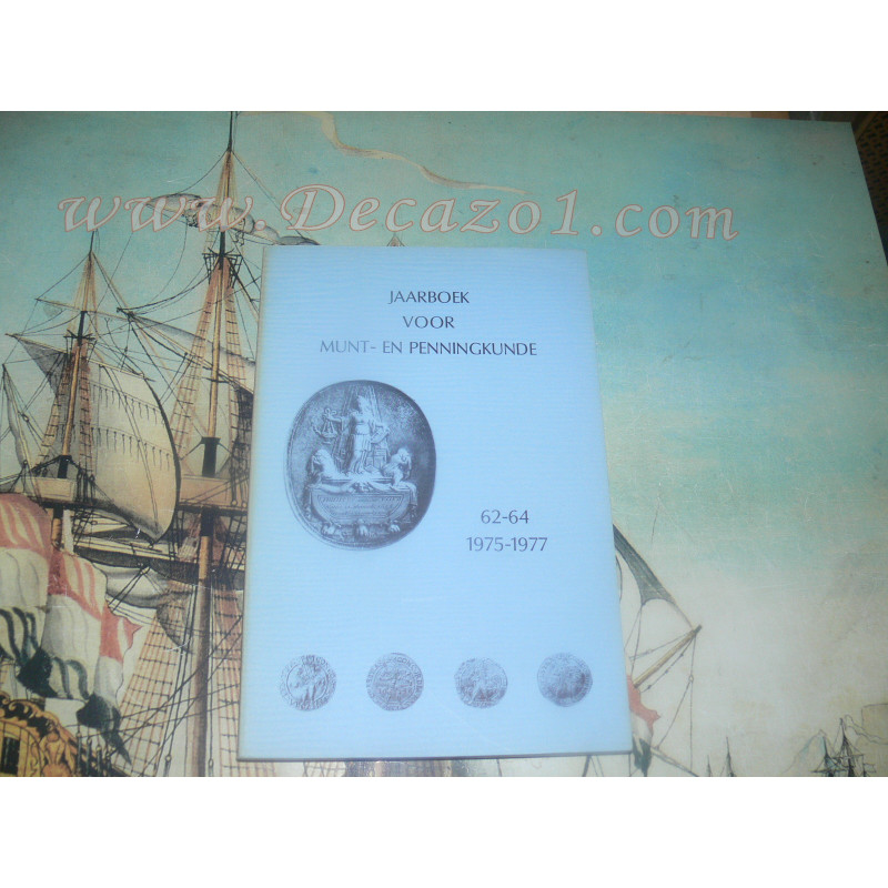 1975-77 (62-64) Jaarboek van het Koninklijk Nederlands Genootschap voor Munt- en Penningkunde.