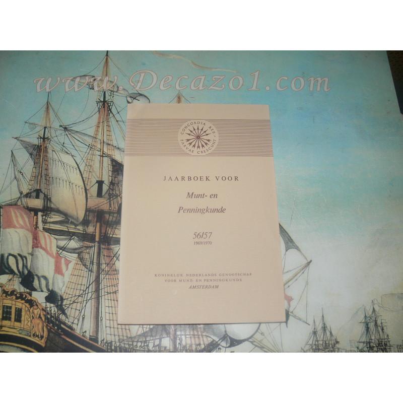 1969-70 (56-57) Jaarboek van het Koninklijk Nederlands Genootschap voor Munt- en Penningkunde.