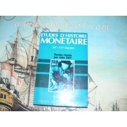 Day, John: Etudes D'histoire Monetaire XIIe-XIXe Siecles