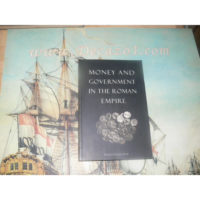 Duncan-Jones, Richard: Money and Government in the Roman Empire. 1994 Softcover