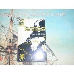 NP 01 De Mey: Les Monnaies des Ducs des Brabant 1106 – 1467 1st Ed. 1966 Numismatic pocket