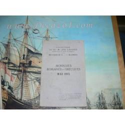 Schulman, J., 114. 1913-05 Laugier & Mons. V. à Madrid. MONNAIES ROMAINES ET GRECQUES