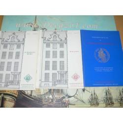 Schulman,  Jacques. Amsterdam, Fixed price-list, 1972-1989,  numbers 201-238. Vekooplijsten